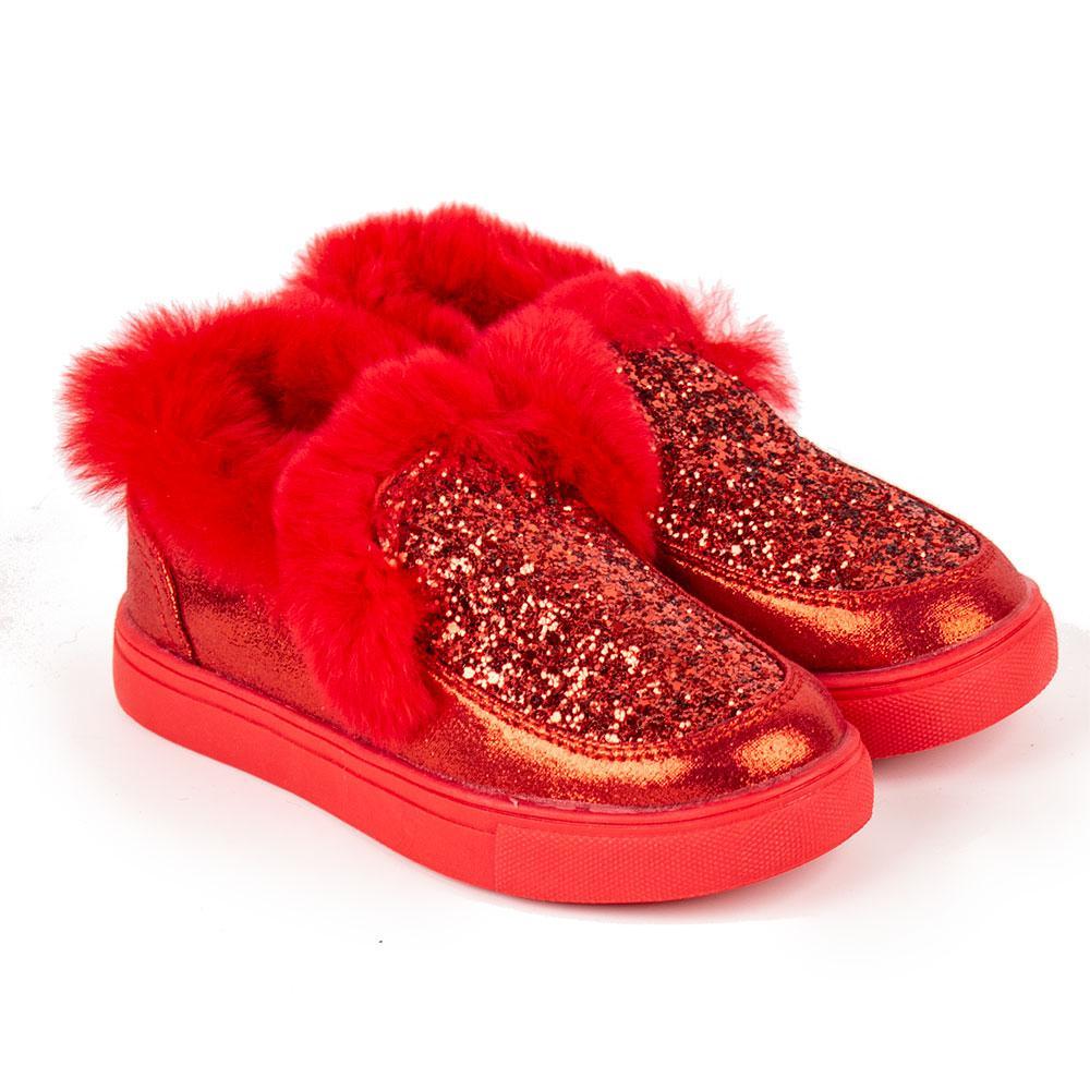 Ботинки для девочек Kimboo 27  красный 980644