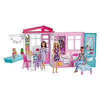 Кукольный дом Barbie Портативный (FXG54)