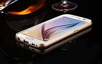 Металлический бампер для Samsung S6 G920 с задней панелью, фото 1