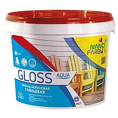 Акриловая эмаль NanoFarb Gloss 2,5л
