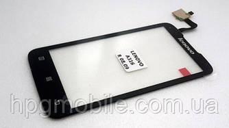 Сенсорный экран (touchscreen) для Lenovo A316, оригинал