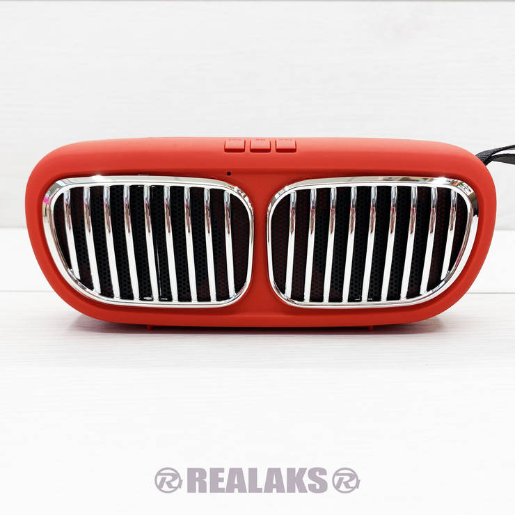 Портативная колонка Wireless Speaker NBS-11 (красный), фото 2