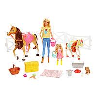 Игровой набор Barbie Верховая езда и объятия (FXH15)