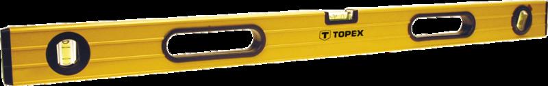 Уровень алюминиевый 120 см TOPEX 29C605