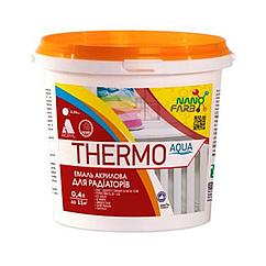 Эмаль для радиаторов NanoFarb Thermo Aqua 0,4л