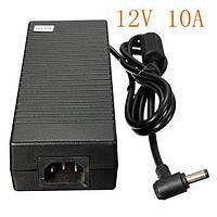 Сетевой адаптер питания AC/DC 5.5 мм 12V 10A для SMD лент и ноутбуков