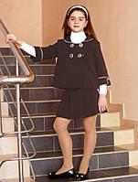 Пиджак детский для девочек школьного возраста, размеры 30, 32, 34, 36, 38, 40, 42. (П-50)