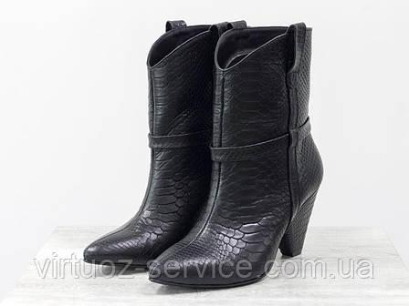 Ботинки женские Gino Figini Б-1902-05из натуральной кожи, фото 2