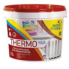 Эмаль для радиаторов NanoFarb Thermo Aqua 0,8л