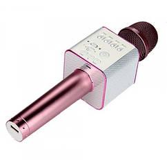 Караоке микрофон MicGeek Q9 Розовый Оригинал 02, КОД: 196135