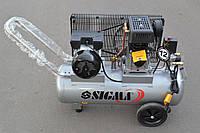 Компресор ремінний Sigma 50л 335л/хв 10Бар, фото 1