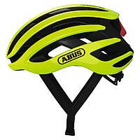 Шолом велосипедний ABUS AIRBREAKER M Neon Yellow 817380, КОД: 1057806