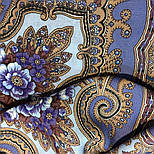 Аленький цветочек 797-1, павлопосадский вовняну хустку з оверлком, фото 9