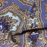 Аленький цветочек 797-1, павлопосадский вовняну хустку з оверлком, фото 10