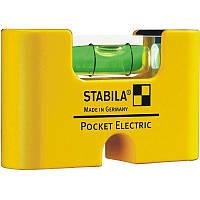 Рівень кишеньковий магнітний Pocket Electric Stabila 17775