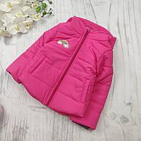 Детская куртка  на девочку осень 86,92,98,104,110,116, фото 1
