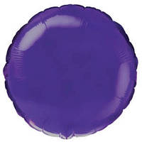 Фольгированный шар Ультра Круг 18см х 45см Фиолетовый