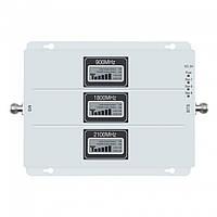 Усилитель сигнала GSM / 3G / 4G репитер Lintratek KW20L-GDW 900-1800-2100 MHz