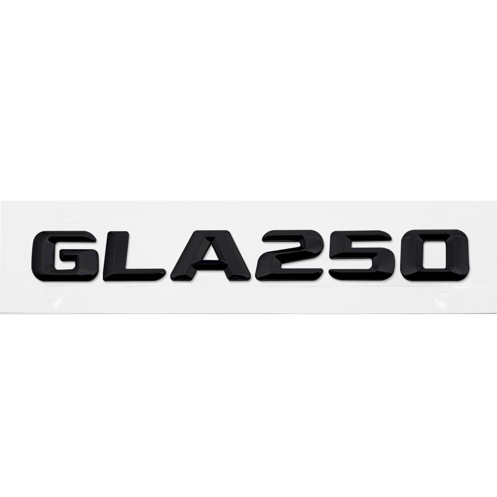 Матовая Эмблема Шильдик надпись GLA250 Мерседес Mercedes