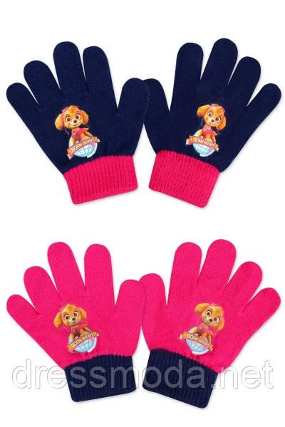 Перчатки для девочек Paw Patrol 2-6 лет