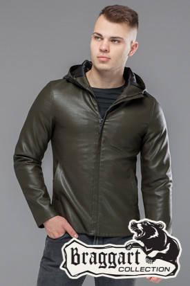 Куртка мужская демисезонная 15353 хаки, фото 2