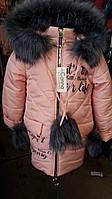 Куртка зимняя для девочек Карина ОПТОМ!, фото 1