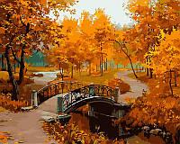 Картина по номерам Осенний парк 50х40 см