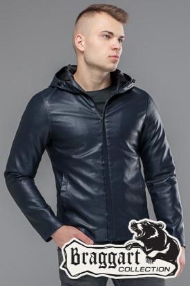 Куртка весенне-осенняя мужская 15353 темно-синяя
