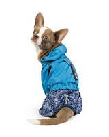 Дождевик для собак Pet Fashion Клайд голубой XS