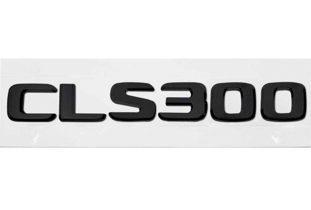 Матовая Эмблема Шильдик надпись CLS300 Мерседес Mercedes