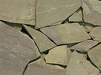 Песчаник Оливка 20мм (40м2 в ПАЧКЕ)