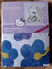 """Постельный комплект детский """"Hello Kitty"""" (наволочка 1шт. 50*80см, пододеяльник 155*200см). Германия"""