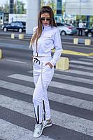 Женский стильный брючный костюм  ПД800