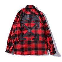 Сорочка Off-White Red/Black, фото 3