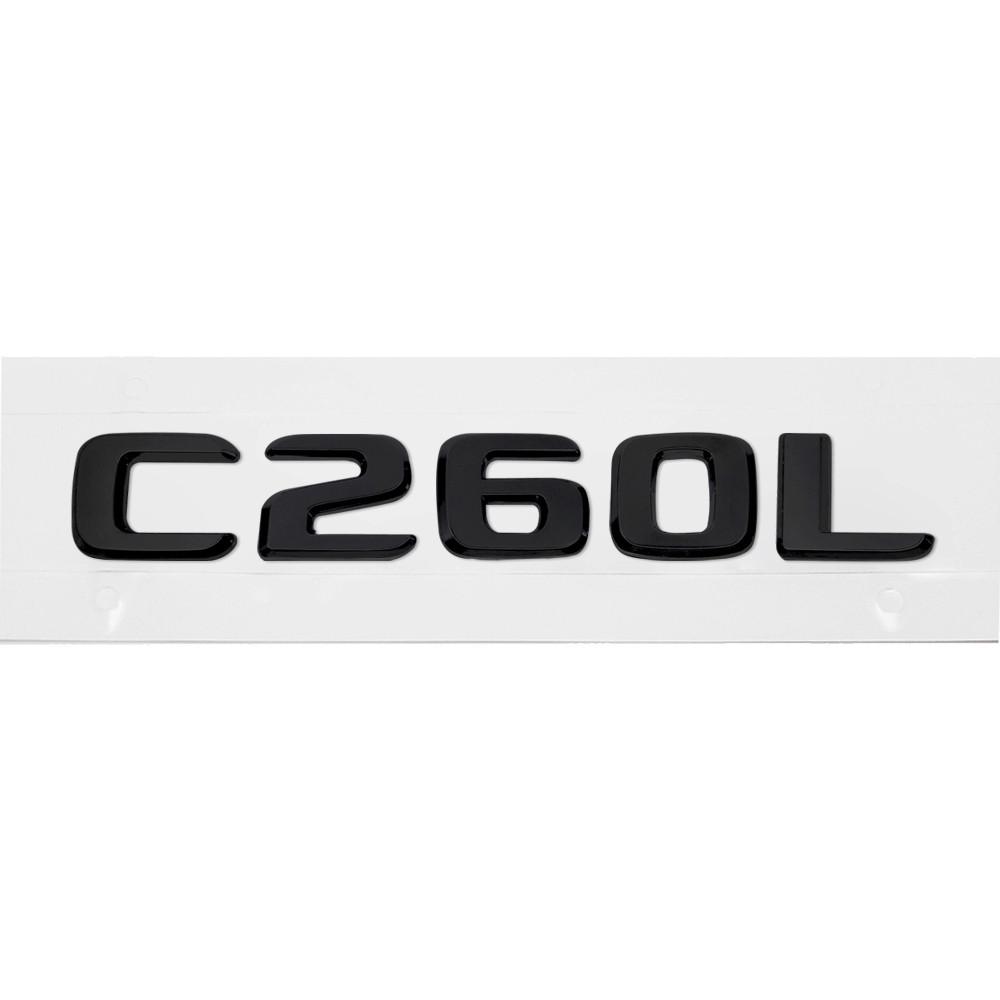 Матовая Эмблема Шильдик надпись C260L Мерседес Mercedes