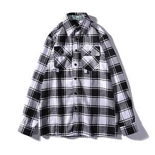 Рубашка Off-White Gray/Pink, фото 2