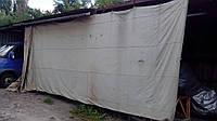 Тент -Брезент армейский прорезиненный 5 на 11 м