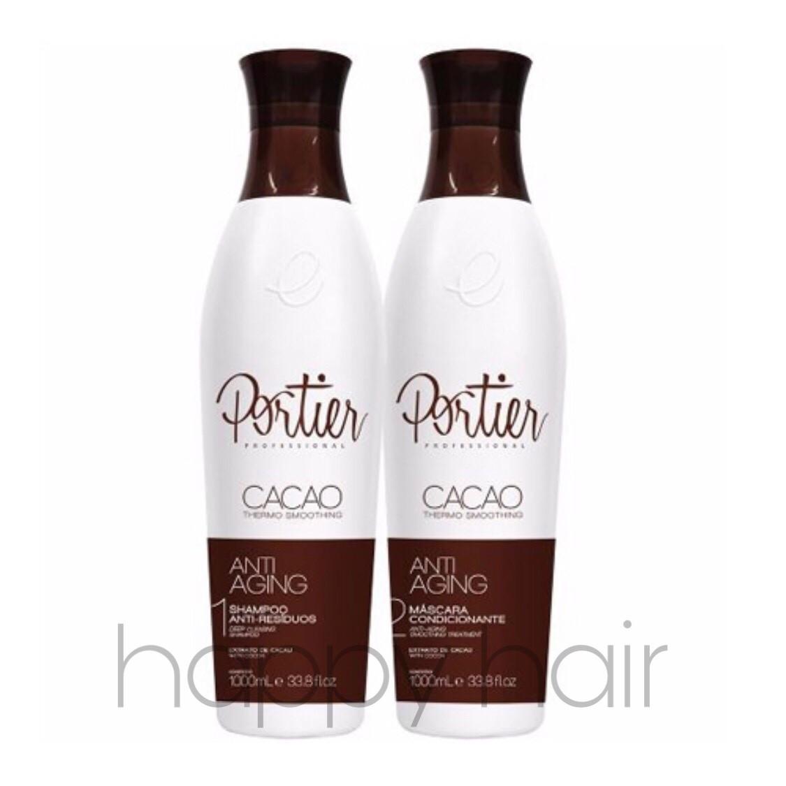 Portier Cacao Набор для кератинового выпрямления 2х1000 мл