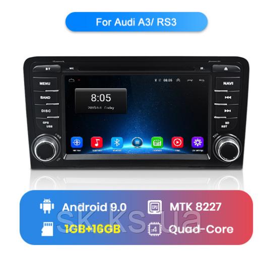 Junsun 4G Android магнитола для Audi A3 8P 2003-2012 S3 2006-2012 RS3 Sportback 2011