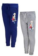 Спортивные штаны на флисе для девочек оптом, Disney, 104-140 см,  № FR-G-JOGPANTS-44