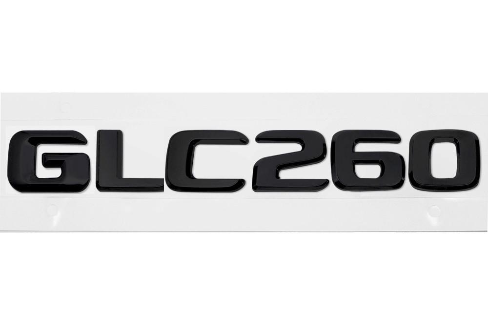Матовая Эмблема Шильдик надпись GLC260 Мерседес Mercedes