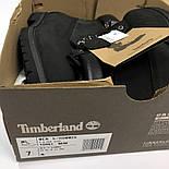 Зимние женские ботинки Timberland 6 inch black без меха. Фото в живую (Реплика ААА+), фото 2