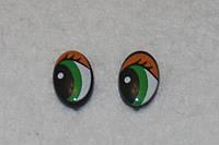 Глазки с ресничками 14371