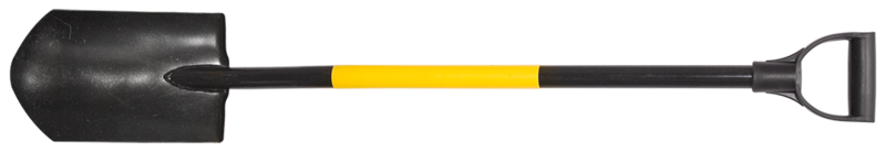 Лопата штикова напівкругла TOPEX 15A020
