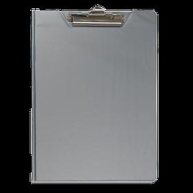 Кліпборд-папка А4, PVC, сірий