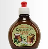 "Крем-мыло ""Молоко и мед"" Рецепты бабушки Агафьи,300 мл."