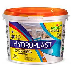 Универсальная гидроизоляционная мастика NanoFarb Hydroplast 7кг