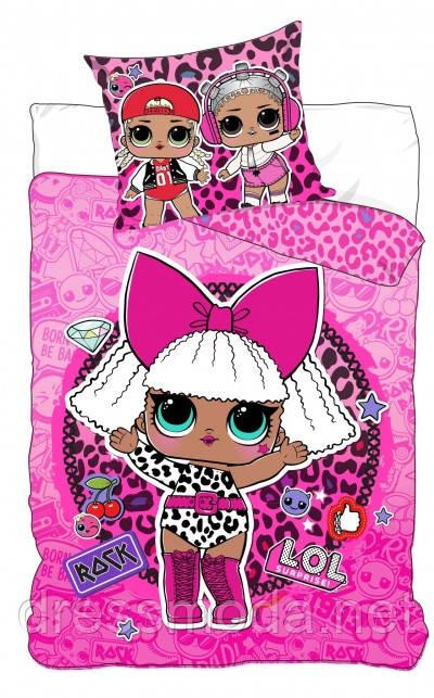 Комплект постельного белья для девочек LOL от Disney