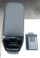 Подлокотник Chevrolet Aveo T250 '2006->'2011  ZAZ VIDA '2011-> Armster2 Black Черный