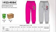 Спортивные штаны на флисе для девочек оптом, Disney, 4-10 лет,  № 1922/9084